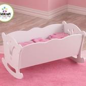 кроватка для кукол KidKraft Doll Cradle (60101)
