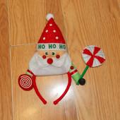 Новогодний обруч для ребенка 3-5 лет