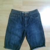 Фирменные джинсовые шорты 12-13 лет