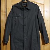 Удлиненная х/б фирменная куртка цвета хаки Zara Man Испания. M. (46 р)