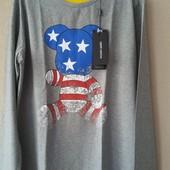 Реглан мужской новый ,футболка с длинным рукавом Киев