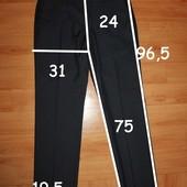 мужские брюки р 32/30, цвет синий