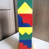 Деревянная пирамида Bino