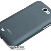 Чехол Rock для Samsung Note2 dark grey (N 7100)