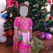 Платье нарядное карнавальное на девочку 3-4 года