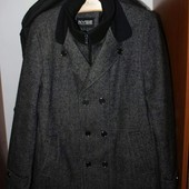 Пальто мужское полушерсть, на 50-52 рр