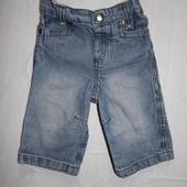 3-6 мес., джинсы, Baby Boutique джинсики в хорошем состоянии