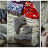 Мужские натуральные угги-зимние ботинки,р-р 40-41