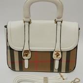 3-148 Женская сумка/ Сумка Burberry/ Сумка повседневная/ PU кожа