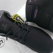 Фирменые Restime зимние ботинки Трекинг Натуральный нубук водооталкивающий