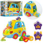 Машинка - сортер Автошка тм Joy Toy 9198