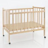Кроватка деревянная КФ №2