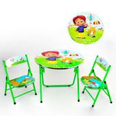 Столик с двумя стульчиками DT 22 / 466-203 с.29, в кор-ке