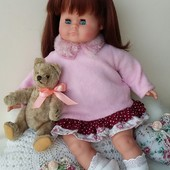 Кукла куколка Schildkrot Schummerle Германия
