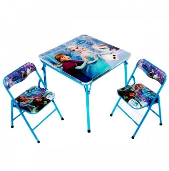 Детский раскладной стол и 2 стула (DT21) фото №1