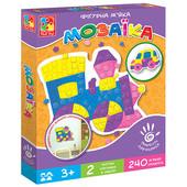 Игра vt2301-02 Мягкая мозаика Паровоз Vladi Toys