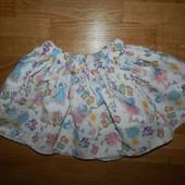 George стильная юбка на девочку 12-18 мес