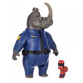 Зверополис офицер МакРог носорог и белка безопасности/ Zootopia Disney