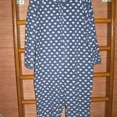 Пижама флисовая, женская, размер М, рост до 165 см