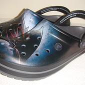 Кроксы Crocs unisex crocband Batman vs Superman m6 - m13