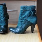 Кожаные ботинки Bronx 38 р