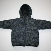 3 г. Двусторонняя теплая куртка для мальчика
