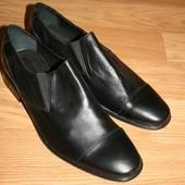 Кожаные thermorubber туфли летние размер 43 большемерят 30 см по стельке