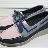 Туфли (мокасины) Hotter кожа 37,5 размер