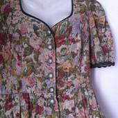 Платье 100% лен в стиле Прованс