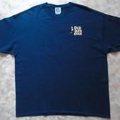 Синяя футболка 52-54