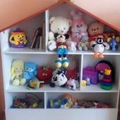 Домик для игрушек, домик-стеллаж для игрушек, хатка для іграшок