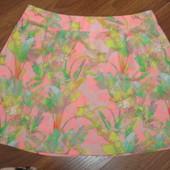 Фирменная летняя юбка  шелк 46-48 размер