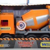 """Машина """"Middle truck"""" бетонозмішувач Сity, ТМ Wader 39311"""