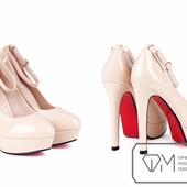 3963 Красивые туфли на каблуке 2 цвета