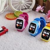 Детские Умные Смарт часы Q100. Гарантия 6 месяцев