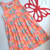 Платье с цветами YD (4-5 лет)