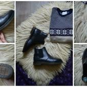 Мужские кожаные ботинки-челси,р-р 41,5