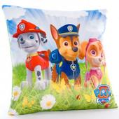 Детская подушка с героями мультфильма Щенячий Патруль , новая