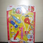 Игрушечный набор доктора для девочки , 8 предметов