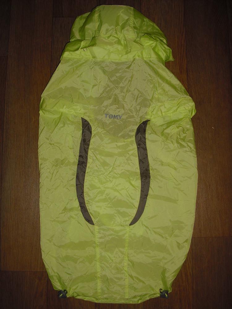 Дождевик для рюкзака-кенгуру tomy фото №1