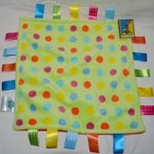 Фирменный большой комфортер полотенечко салфетка игрушка слюновпитывающее мягкое