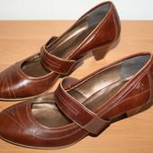 Фирменные , новые, кожаные туфли  Per Una