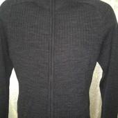 новый!мужской свитер с шерстью на замке от такко.Германия