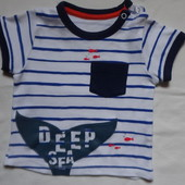 футболка 3-6 мес (62-68cм) pep&co