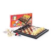 Шахматы пластмассовые 8 в 1, в кор. 29*15*3,5 см, 9863