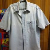 Мужская джинсовая рубашка.54р.