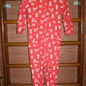Пижама флисовая,на 6-7 лет, рост до 122 см  Ladybird