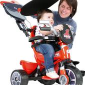 Велосипед детский трехколесный Injusa Body Trike Красный 325