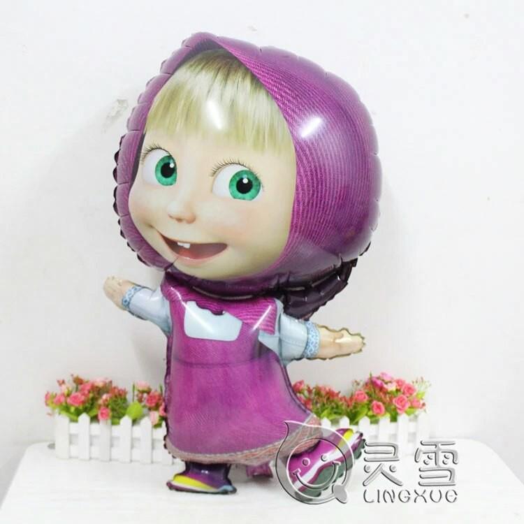 Надувной шар для детей игрушка маша фото №1