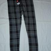 Стрейчевые штаны-лосины ,р-р 16,на наш 50-52,новые